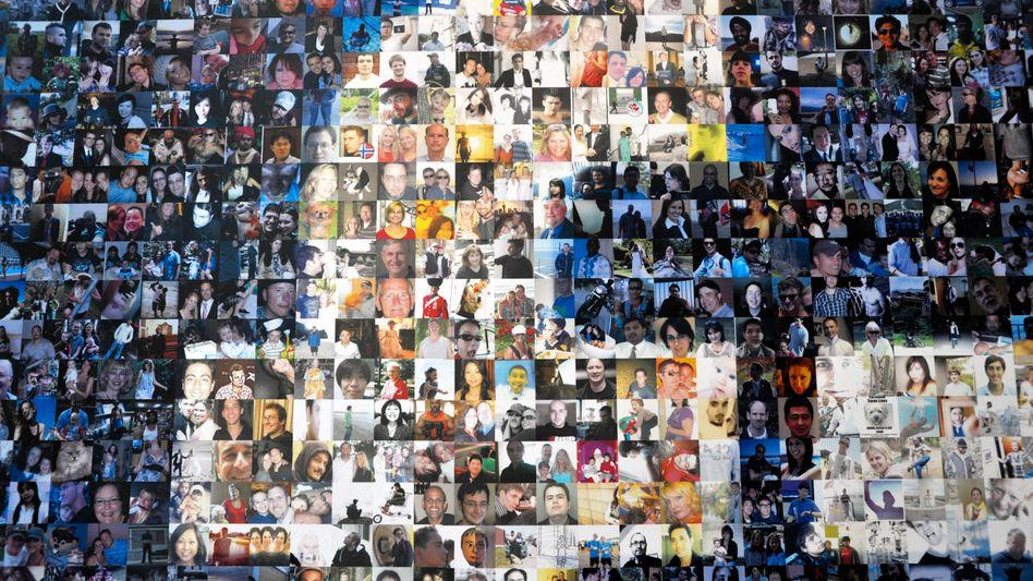 F wie Facebook: 901 Millionen aktive User soll das Unternehmen pro Monat verzeichnen