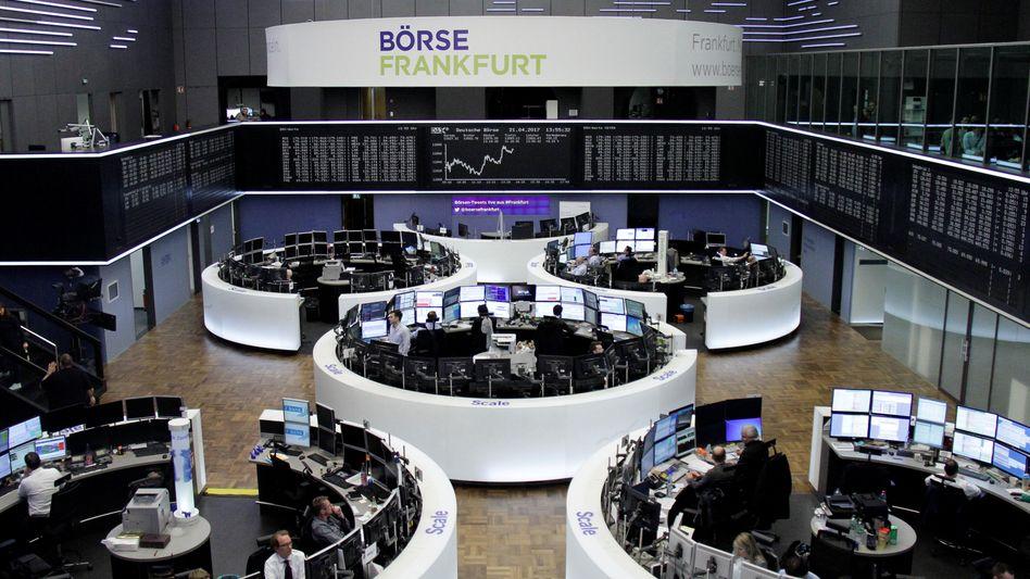 Börse in Frankfurt (am 21. April)