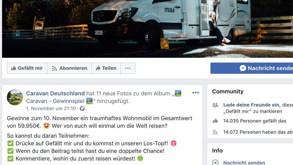 Trickbetrüger auf Facebook: So erkennt man ein Fake-Gewinnspiel