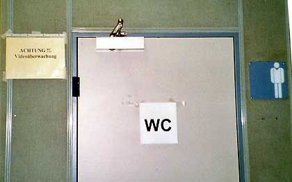 Videoüberwachung an der Uni Trier: Zonen müssen gekennzeichnet sein