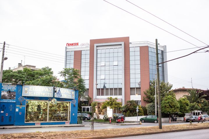 Die Genesis-Klinik von Dr. Konstantinos Pantos in Athen