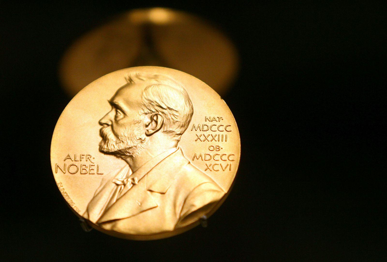 Nobelpreis Medaille/ Alfred Nobel