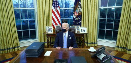 Joe Biden und seine ersten Amtshandlungen als US-Präsident