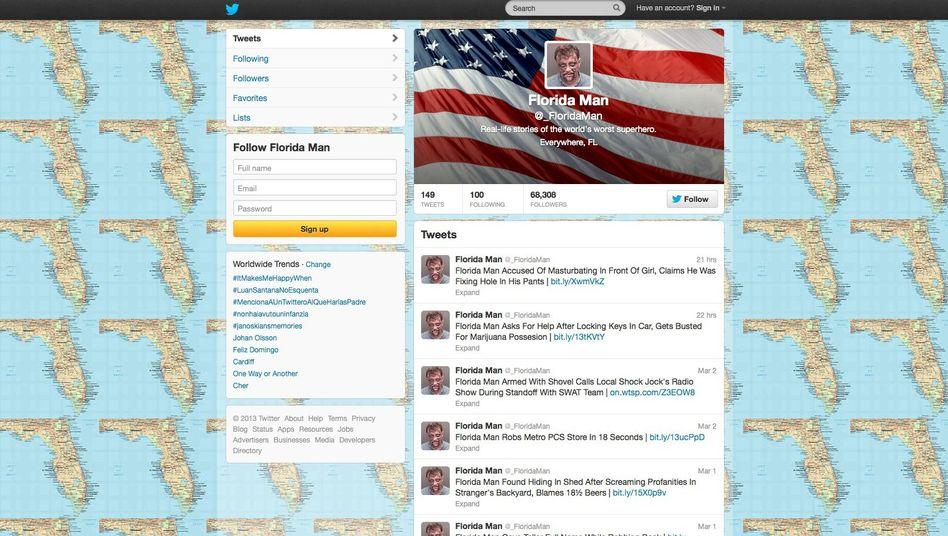 Twitter-Nutzer Florida Man: Der weltschlechteste Superheld