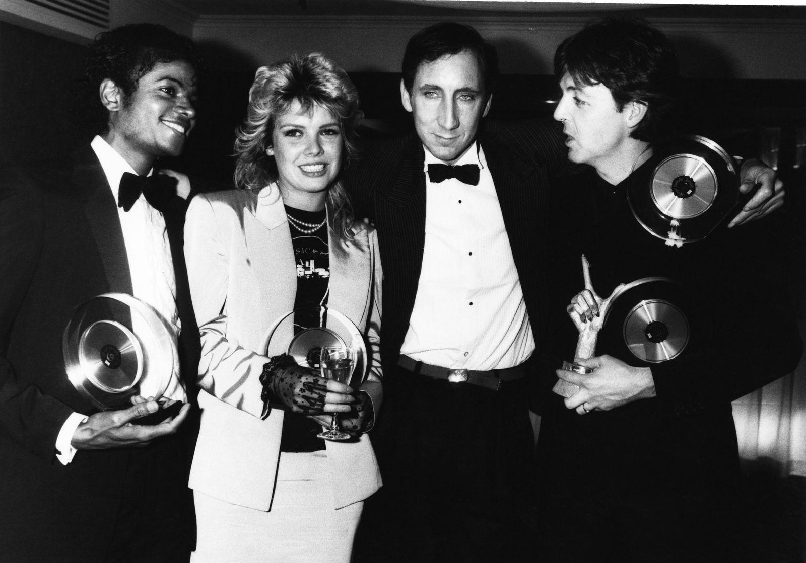 Pete Townshend - 1983 Brit Awards