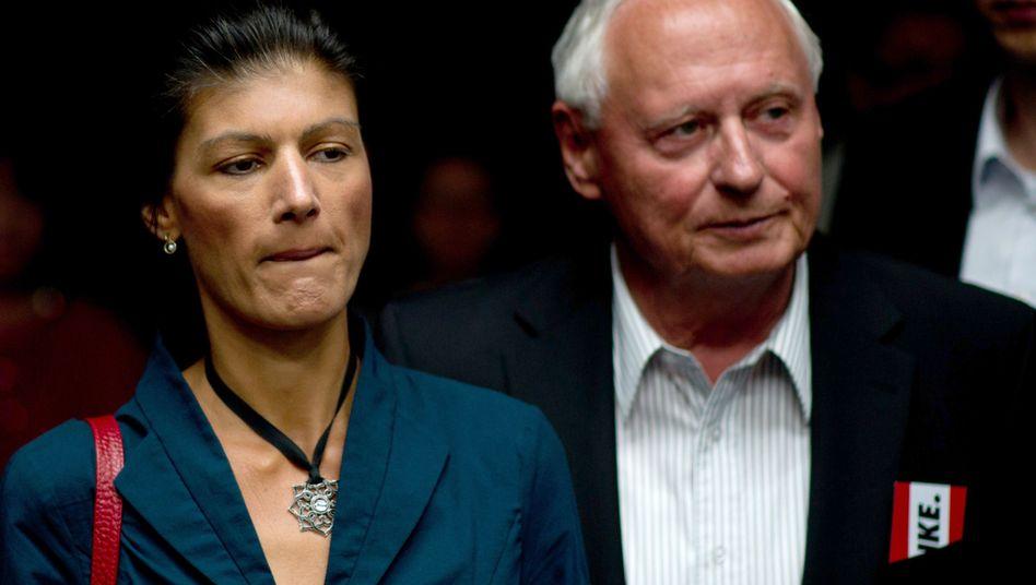 Wagenknecht und Lafontaine: Vorschläge vom Linke-Vorstand zurückgewiesen