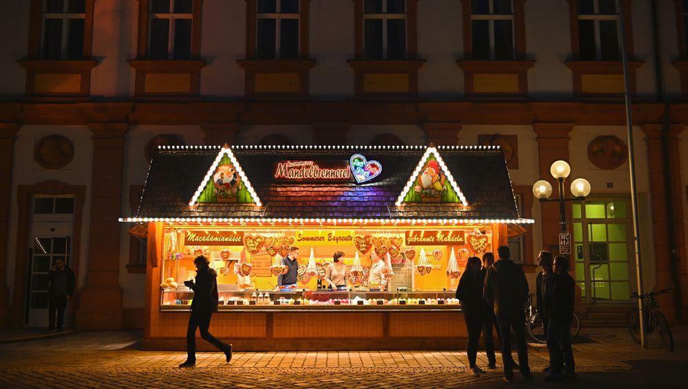 Im Oktober: Frühe Weihnachtsstimmung in Bayreuth