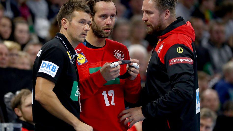 Christian Prokop, Silvio Heinevetter und Oliver Roggisch (v.l.)
