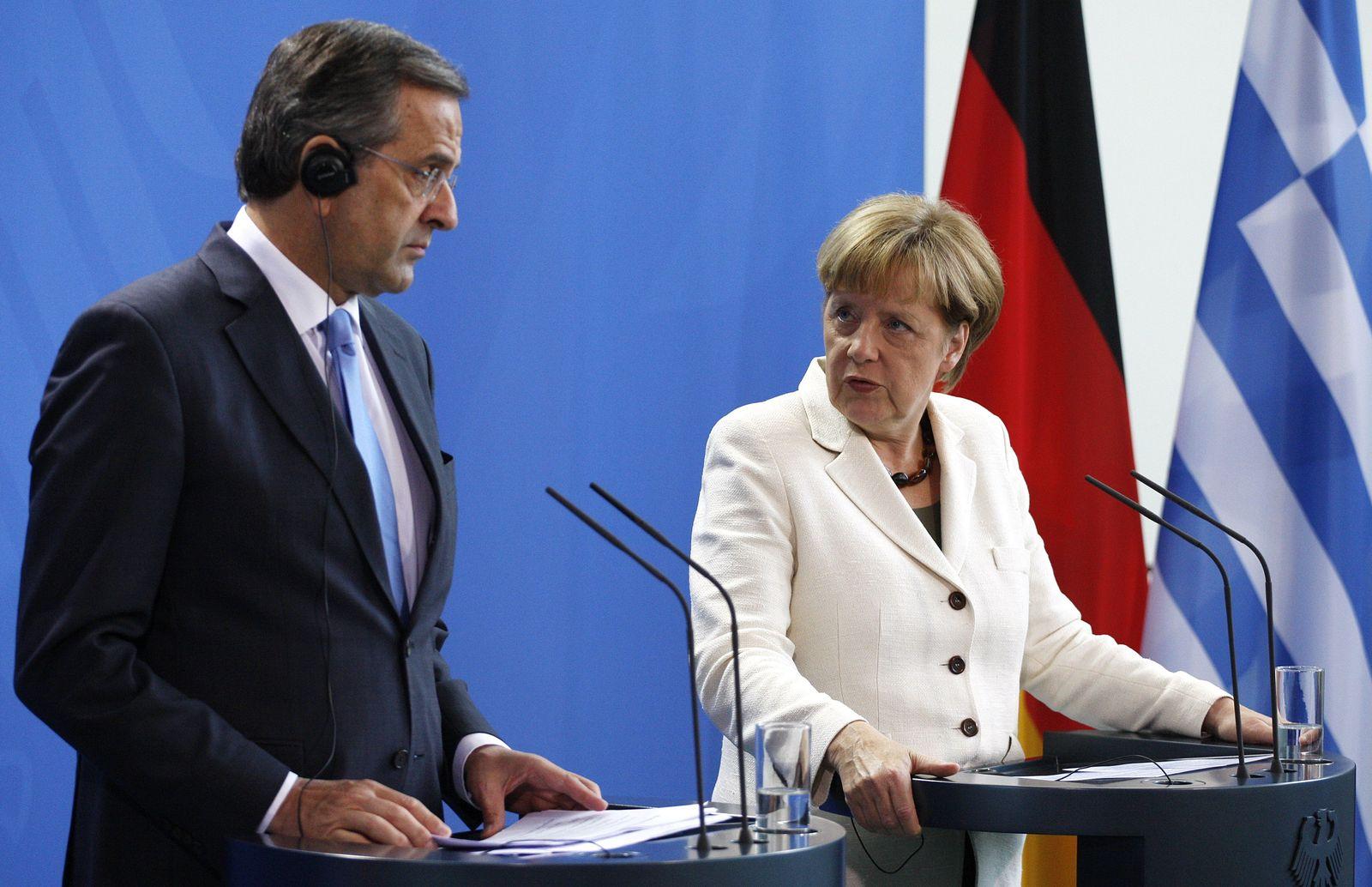 Merkel/ Samaras