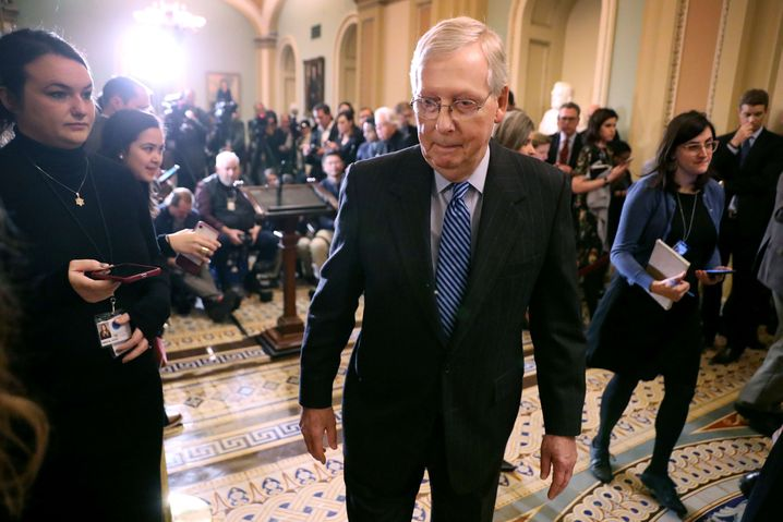 Senator Mitch McConnell: Hat sich der Republikaner verzockt?