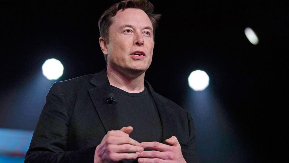 Elon Musk: »#Bitcoin« im Twitter-Profil