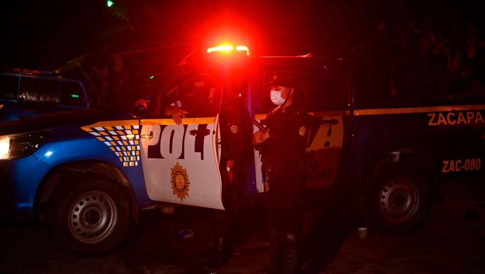 Polizeistreife in Mexiko (Archivbild)