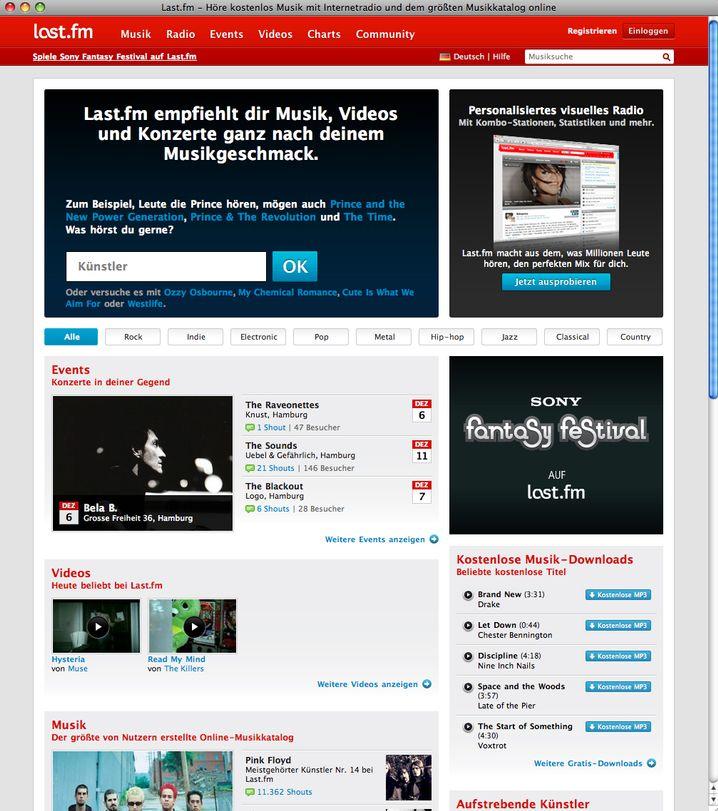 Musikempfehlungs-Tool LastFM: Kenne die richtigen Quellen
