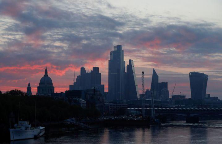 Skyline der britischen Hauptstadt London