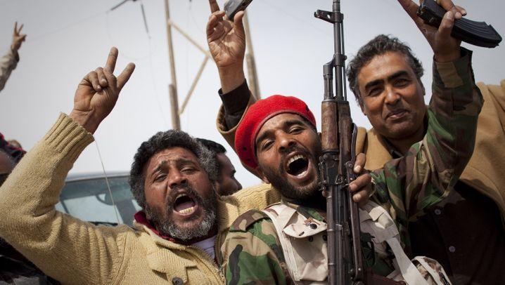 Libyen: Rebellen stürmen Richtung Westen