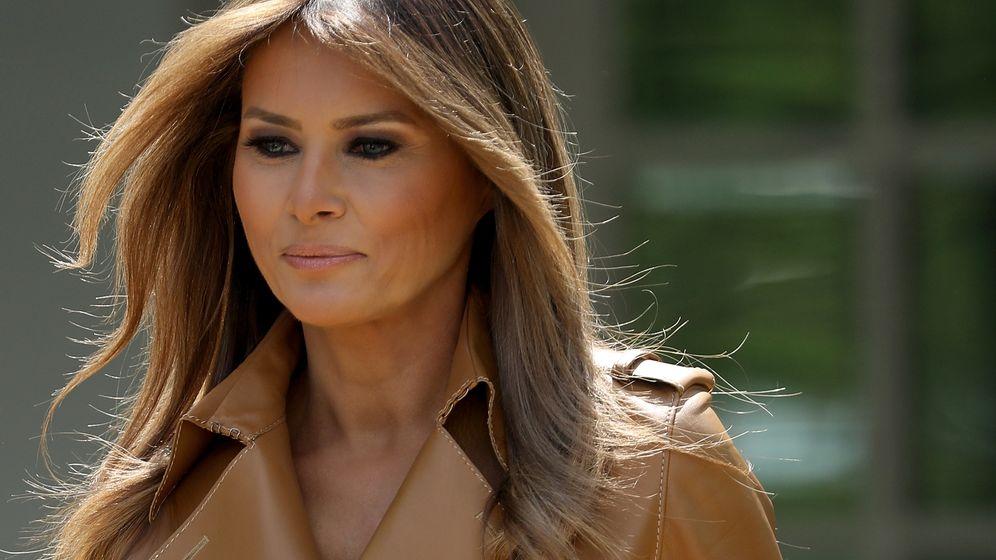 First Lady: Melania Trump zurück im Weißen Haus