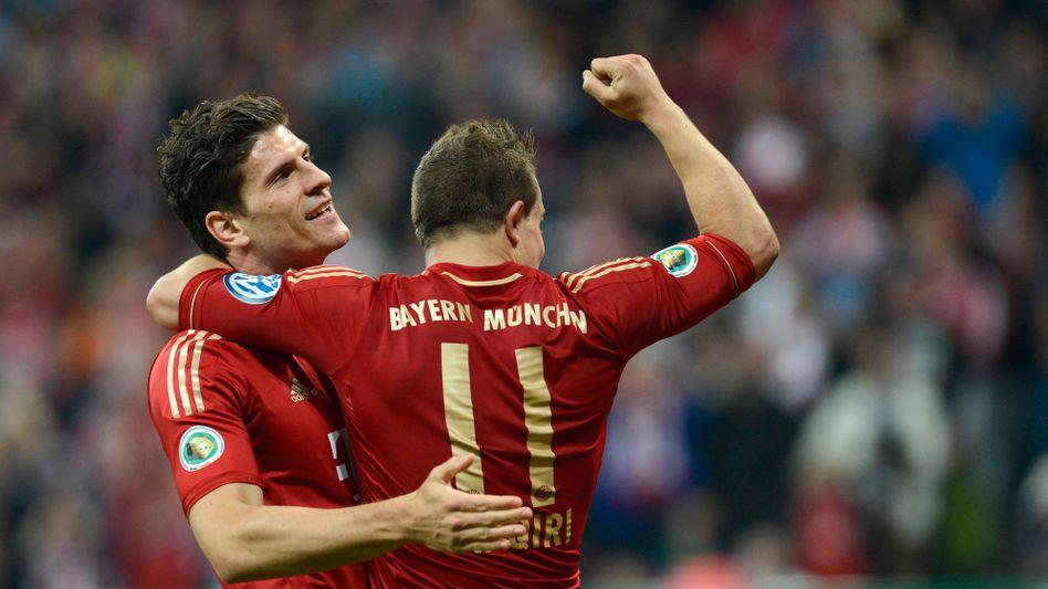 Bayern-Sieg über Wolfsburg: Unheimlich überlegen