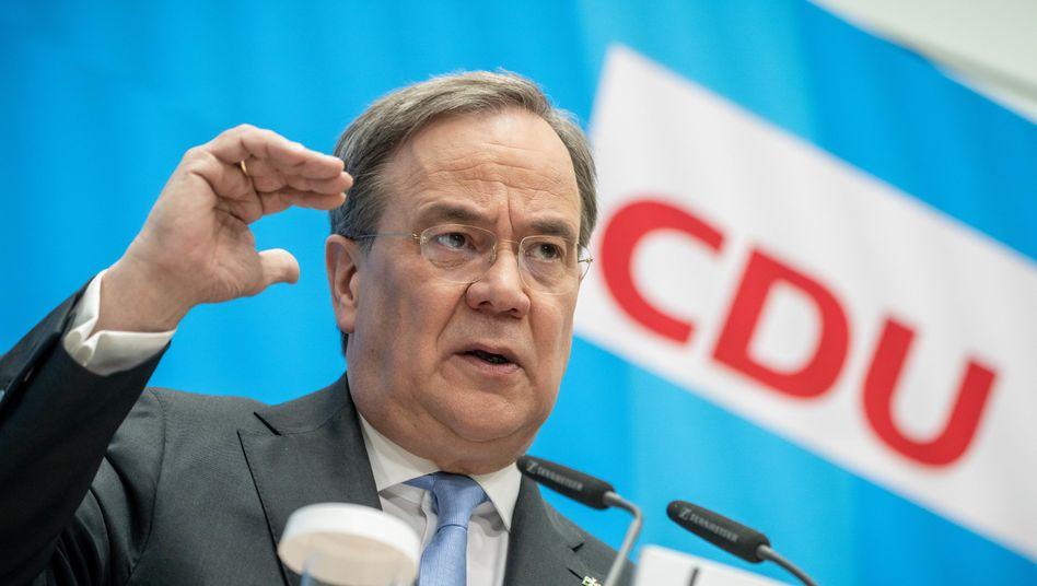CDU-Politiker Laschet: In NRW ist ein Machtkampf um seine Nachfolge ausgebrochen