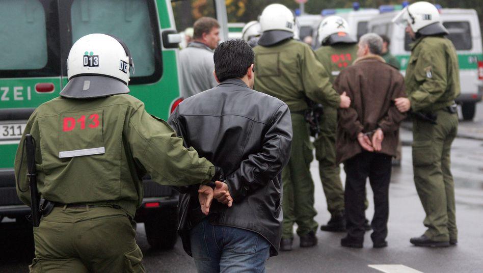"""Polizeiaktion gegen Mitglieder arabischer Großfamilien in Berlin: """"Das können Sie knicken"""""""