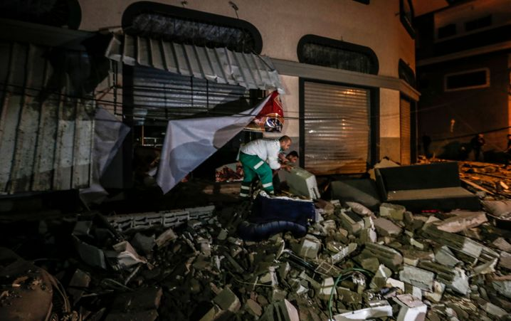 """Haus von Abu al-Ata: Er habe unter anderem """"Terrorsquads"""" für das Eindringen nach Israel trainiert"""