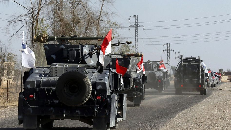 Irakisches Militärfahrzeug
