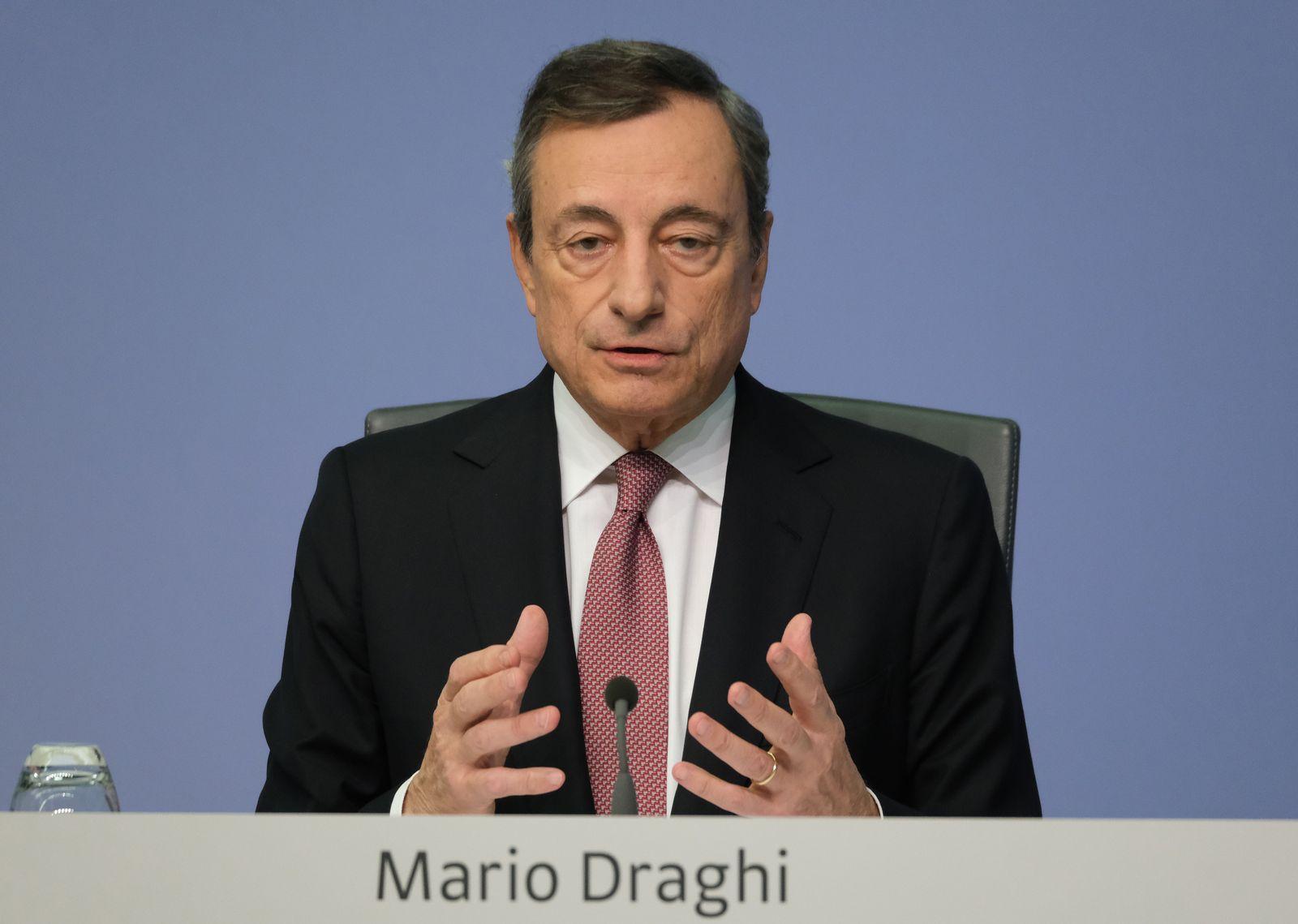 Mario Draghi/ EZB/ Frankfurt