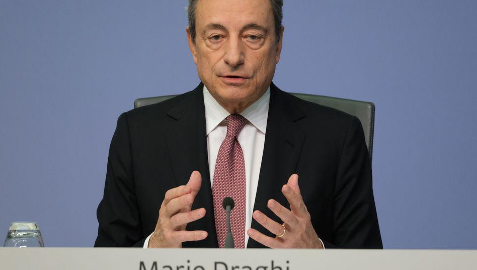 Mario Draghi: Sein Vorstoß traf auf mehr Widerstand als erwartet