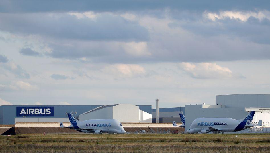 Airbus-Produktion nahe Toulouse: Die Auswirkungen der Viruskrise sind erheblich