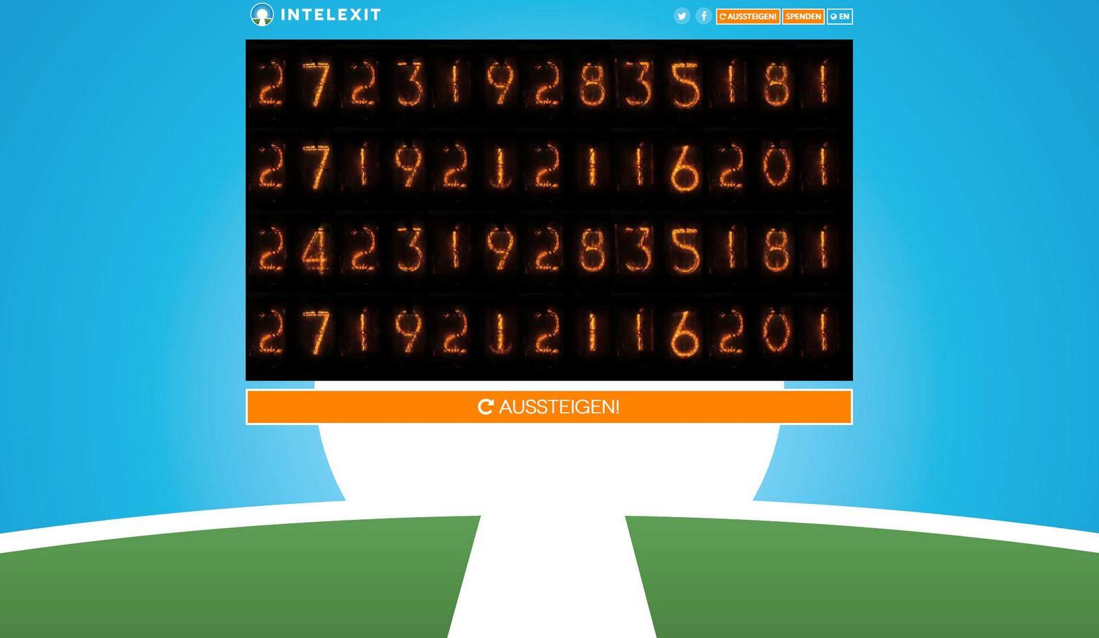 Screenshot/ intelexit