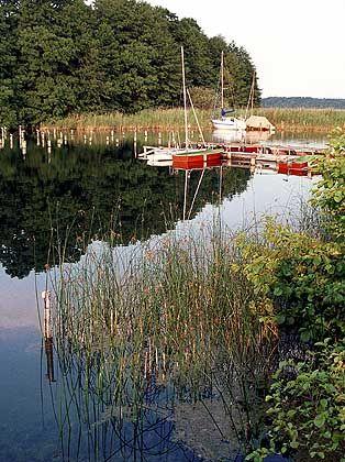 Carwitzer See: Grün-blaues Idealbild der Sommerfrische