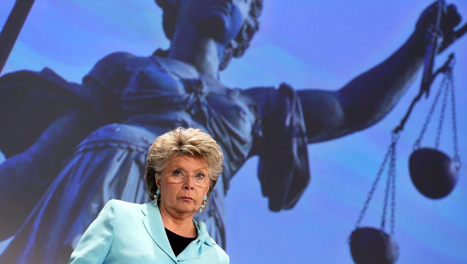 """EU-Vize-Präsidentin Reding: """"Ich werde sicherlich nicht nach Sotschi reisen"""""""