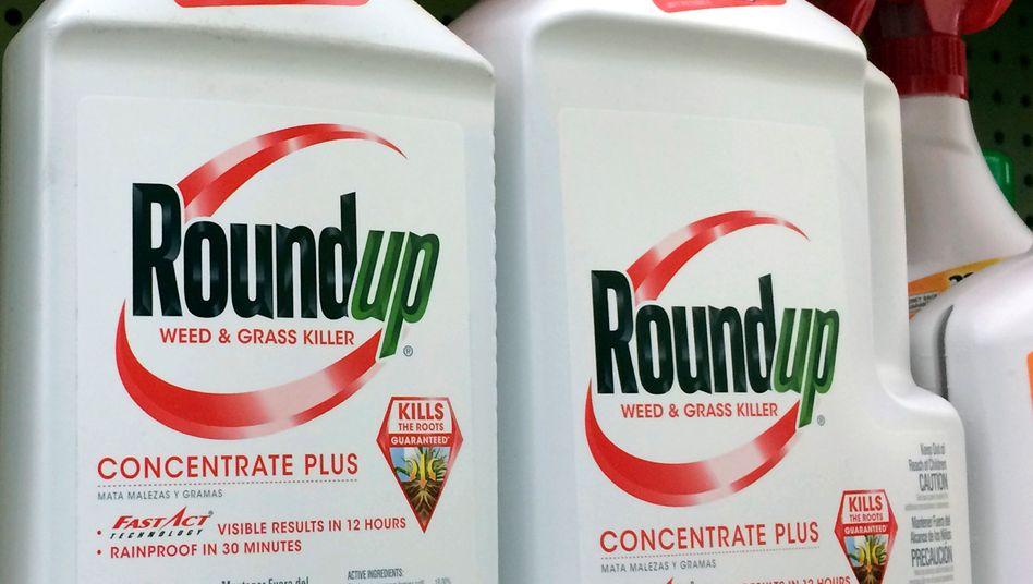 Glyphosathaltiges UnkrautvernichtungsmittelRoundup