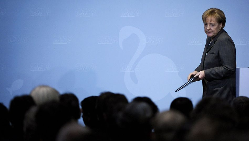 CDU-Chefin Angela Merkel: Beschuss aus den eigenen Reihen