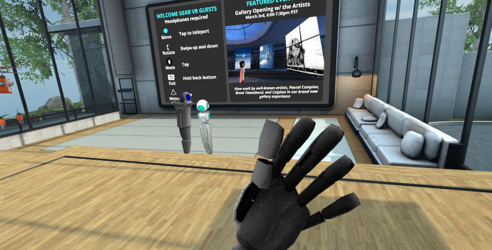 EINMALIGE VERWENDUNG VR Anwendungen SCREENSHOT