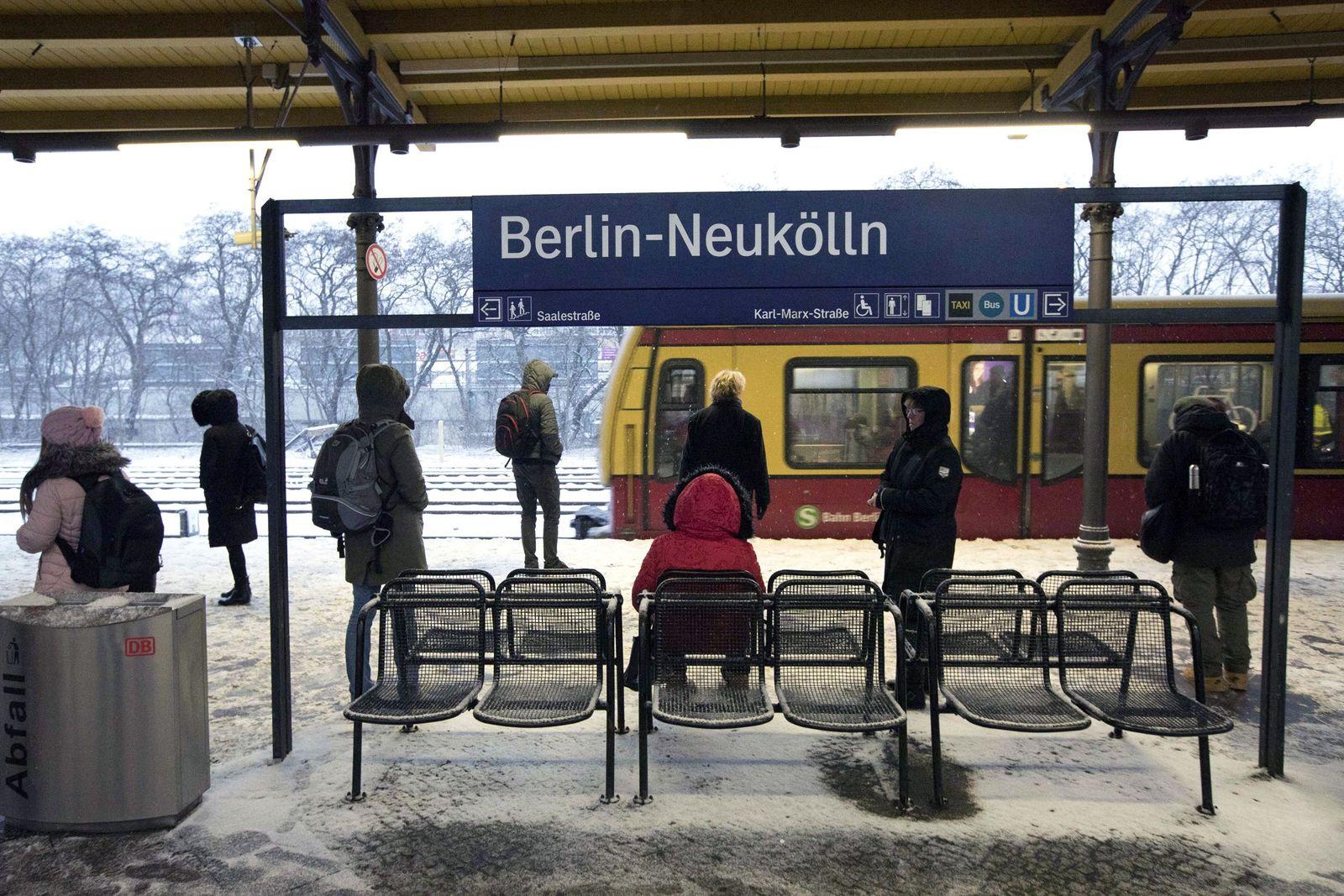 EINMALIGE VERWENDUNG Berlin Neukölln