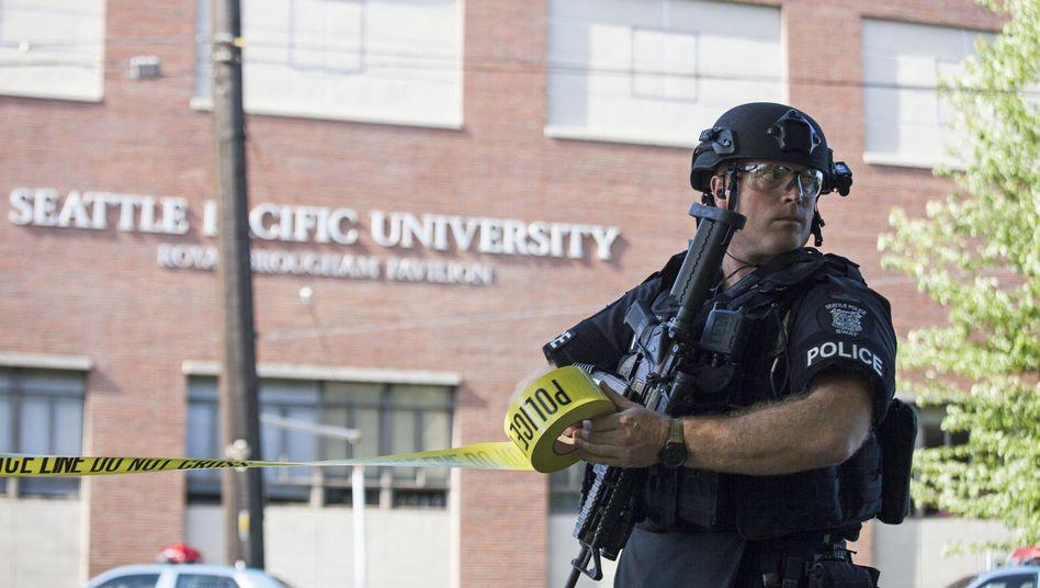 Tatort Universität: In Seattle soll ein Mann einen Studenten erschossen haben