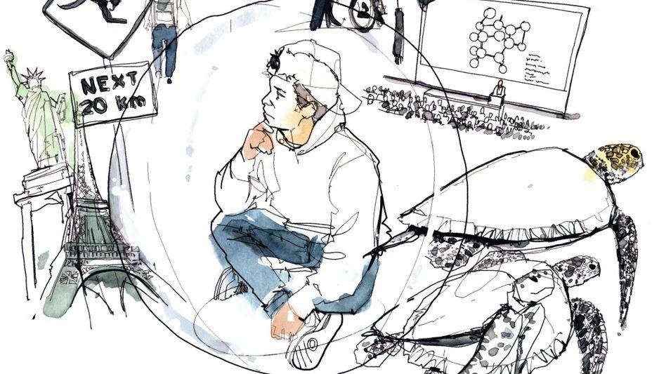 Nach dem Abitur kommt für viele Jugendliche das große Nichts: Sie gönnen sich eine längere Auszeit und könnten kaum mehr provozieren.