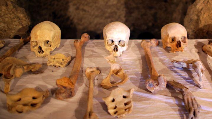 Ägyptische Mumie: 3500 Jahre in Leinen gehüllt