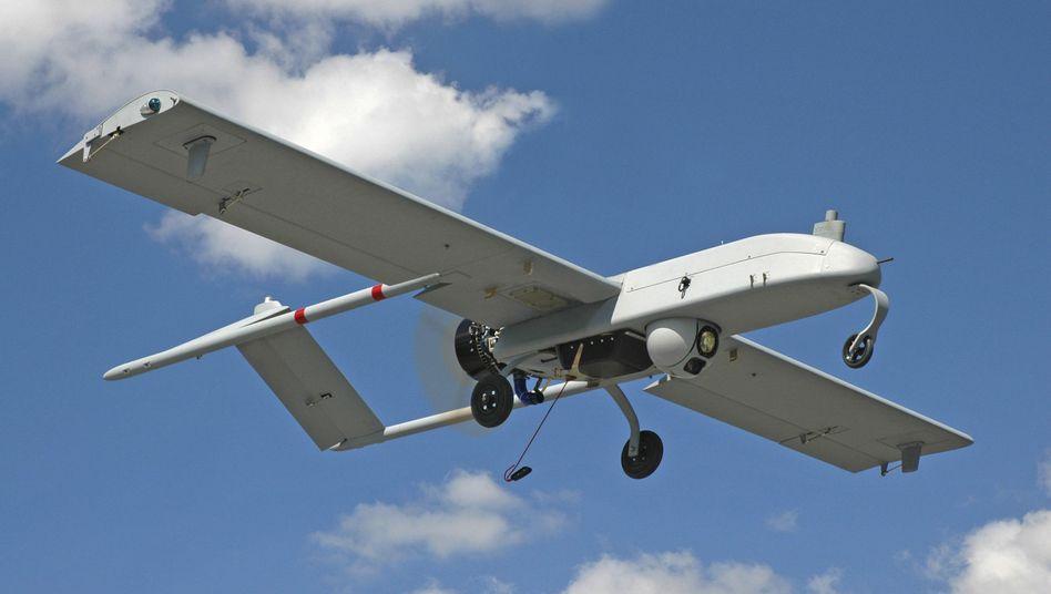 """US-Drohne: Ein Flugroboter mit der Bezeichnung """"Shadow"""""""