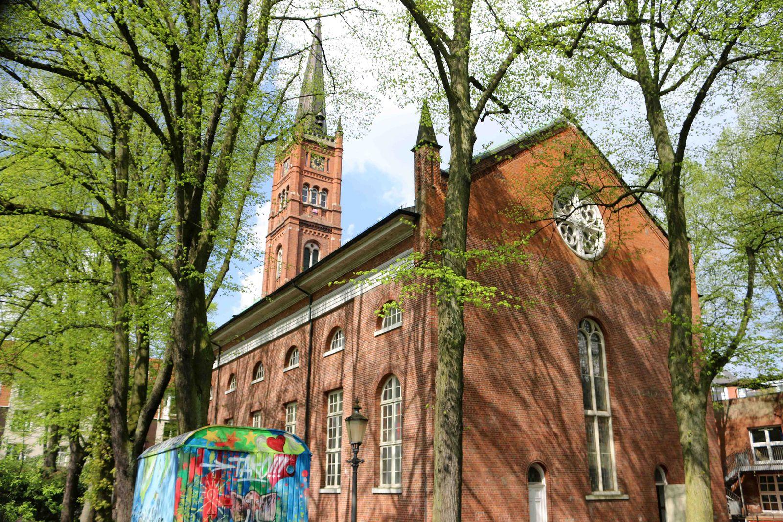 EINMALIGE VERWENDUNG Sieghard Wilm/ St. Pauli-Kirche
