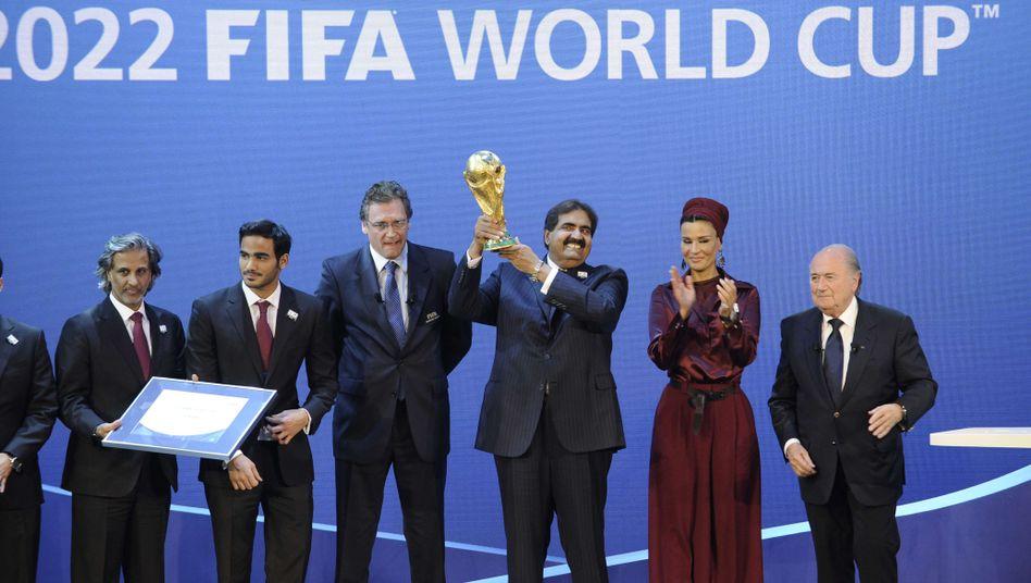 Vergabe der WM an Katar (im Jahr 2010): Turnier in den Wintermonaten