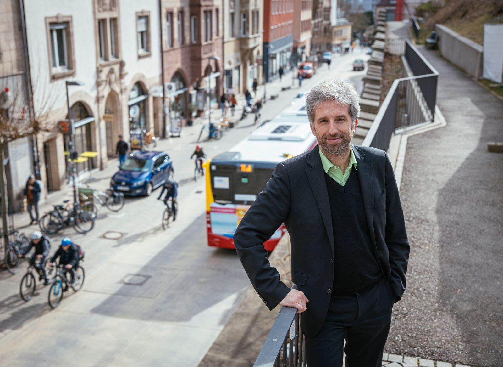Verkehrsprojekt Muehlstrasse in Tuebingen