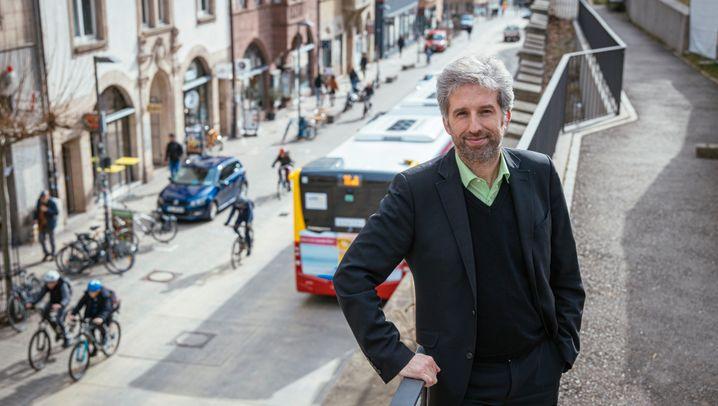 Mühlstraße Tübingen: Mehr Platz für Fahrräder?