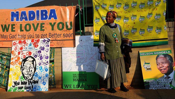 Südafrika: Mandela 95. Geburtstag