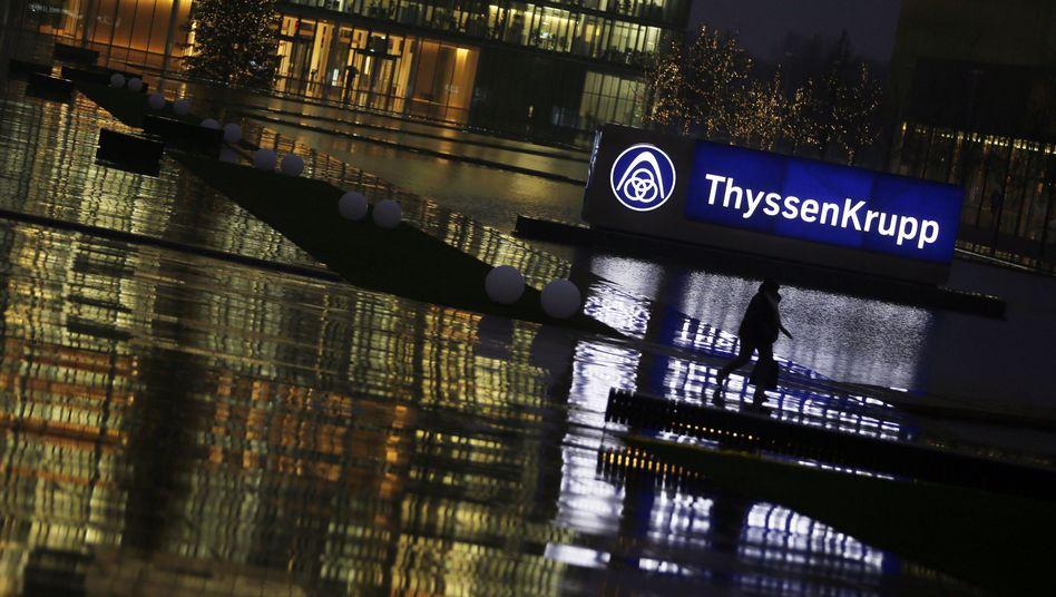 ThyssenKrupp-Zentrale in Essen: Anzeichen der Besserung