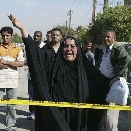 Angst um das Leben der Nächsten: Angehörige von entführten Irakern in Bagdad