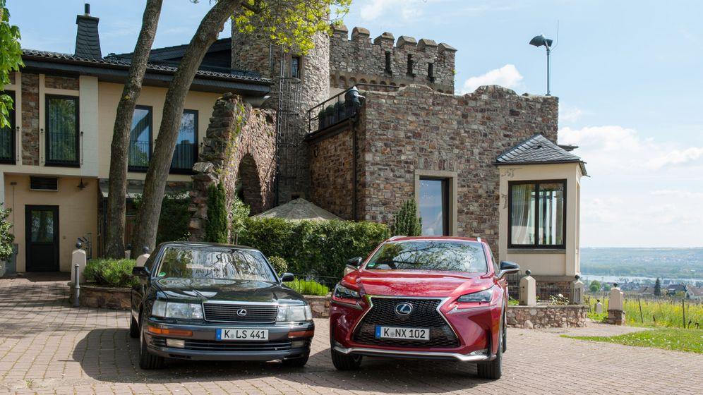 25 Jahre Lexus in Deutschland: Ahnenreihe der Nischenmodelle
