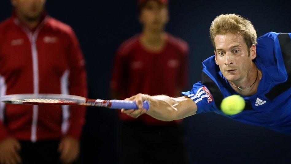 Tennisspieler Mayer: Chancenlos gegen Novak Djokovic