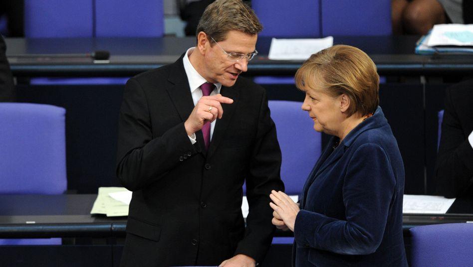 """Merkel und Westerwelle: """"One-Size-Fits-All kann nicht die Lösung für Europa sein"""""""