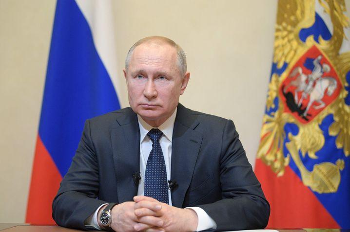 """Putin spricht zur Nation: """"Es kann jeden von uns treffen"""""""